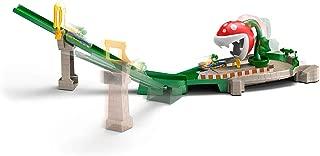 Hot Wheels GFY47 Mariokart Piranha Plant Slide 套装,1:64 比例压铸卡丁车和轨道,多色
