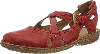 Josef Seibel 女式 Rosalie 13 包趾凉鞋,蓝色