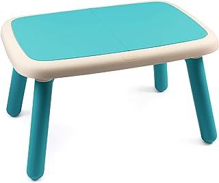 Smoby 智比 儿童桌 蓝色 – 设计儿童桌 适合18个月以上的儿童 适用于室内和室外 塑料材质 适用于花园、露台、儿童房