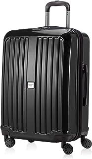 HAUPTSTADTKOFFER - X-Berg - 行李箱 Hardside Spinner 手推车 4 轮 可扩展,TSA,75 厘米,红色 Black Glossy Black Glossy