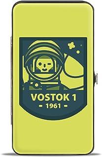 Buckle-Down 女式铰链钱包 - Vostok 1-1961,多色,17.78 cm x 10.16 cm