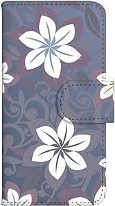 智能手机壳 手册式 对应全部机型 印刷手册 cw-151top 套 手册 花朵图案 UV印刷 壳WN-PR182412-MX HTC Desire 626 图案 A