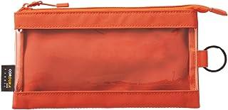 LIHIT LAB. 透明保护壳 ペンサイズ 橙色