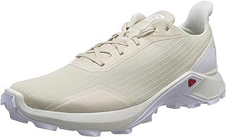 Salomon 萨洛蒙 ALPHACROSS 男士越野跑鞋 Beige (Bleached Sand/Vanilla Ice/White Bleached Sand/Vanilla Ice/White) 45 1/3 EU