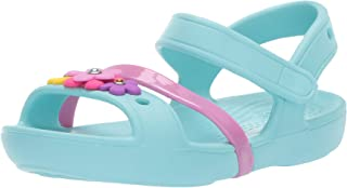 Crocs 卡骆驰中性款 Lina Charm 儿童高跟鞋