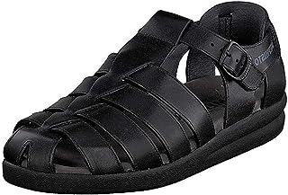 Mephisto 男式 Sam 凉鞋 , Black, 42 (US Men's 8) D-Medium