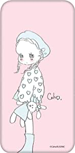 caho 保护套透明 Tpu 印花毛绒玩具和小女孩手机壳适用所有机型  ぬいぐるみと少女C 6_ らくらくスマートフォン2 F-08E