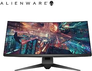 【顺电自营】Alienware 外星人 AW3418HW 34英寸 专业电竞 曲面显示器 160Hz刷新率 3800R曲率 游戏显示器 顺丰发货 可开专票
