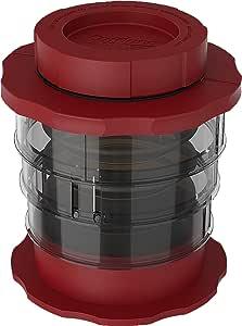 Cafflano Kompact, 简单压热冷咖啡酿*机 红色 10.8 x 10.8 x 12.2 cm P100-RD