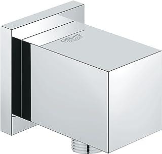 GROHE 高仪 Euphoria Cube 淋浴花洒套装 墙壁连接弯头(DN 15,外螺纹)27704000,镀铬