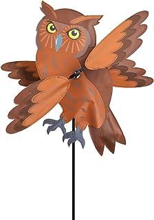 Whirlygig Brown Owl 12x18 inch