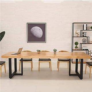 2 件金属家具腿工业餐桌腿,黑色铸铁咖啡桌腿 28 英寸(约 71.9 厘米)高 17.7 英寸(约 44.9 厘米)宽,金属腿适用于 DIY 咖啡桌家具长凳,质朴重型方形管桌腿