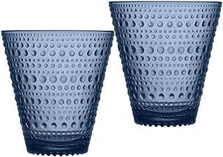 iittala Kastehelmi 情侣平底杯 300 毫升 雨蓝色 1019597