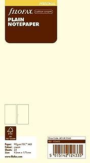 filofax 斐來仕 132453 Cotton Cream Plain Notepaper personal A6 米色空白頁 筆記本內頁 活頁替芯 內芯