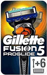 Gillette Gillette Fusion 5 剃须刀 + 5 片刀片,包装在您的信箱中