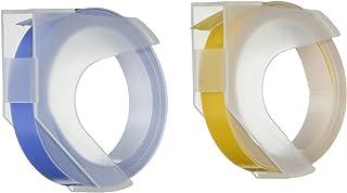 K&CompanySmash 剪贴簿标签机替换装,蓝色和黄色