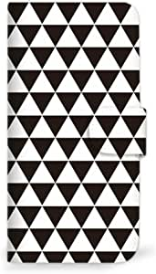 MITAS 智能手机保护壳翻盖型北欧4 黑 18_HONEY BEE (HWX06K)