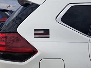 EyeCatcher 美国国旗徽标贴花 红色 ECFLAGRED