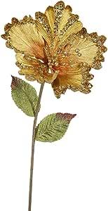Vickerman 木槿花茎 金色 OF160308