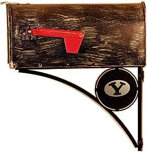 Henson Metal Works 3910-44 Brigham Young 徽标装饰性邮箱支架