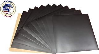 Oracal 631 乙烯基可移除哑光黑胶纸非常适合您所有的复杂乙烯基项目 黑色 11(Sheets) sheets631