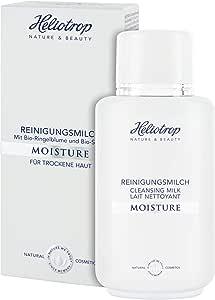 HELIOTROP Naturkosmetik 保湿洁面乳,温和彻底地卸除彩妆和污垢,不干燥,让肌肤平滑,200 毫升