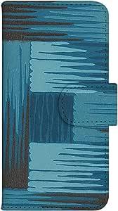 智能手机壳 手册式 对应全部机型 印刷手册 wn-379top 套 手册 编织图案 UV印刷 壳WN-PR061415-MX AQUOS Xx2 502SH B款