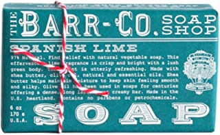 Barr-co. Soap Shop 6 Oz Spanish Lime Bar Soap by The Barr-Co.