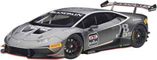 AUTOart 1/18 蘭博基尼 Huracan(颶風)LP620–2?Super Trofeo 2015?#63 深灰色 完成品