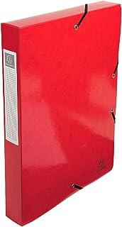 Exacompta 档案盒 iderama (背40毫米 – 24 X 32厘米) 红色