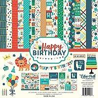 "Echo Park Collection Kit 12""X12""-Happy Birthday Boy"