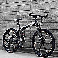 新款26寸自行车六刀一体轮路虎款折叠变速山地车成人单车21速24速27速双碟刹男女式单车 SKU: 18-WVDK-KNS9