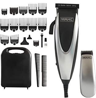Wahl - Home Pro Combo 24 件套套装 - 黑色/银色完整理发和修补套装