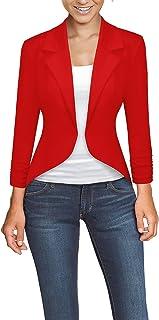 混合 & Company 女式休闲工作办公高低外套夹克