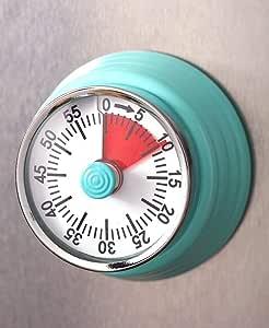 Lakeside 系列60分钟复古磁性厨房计时器 - 蓝绿色 unknown