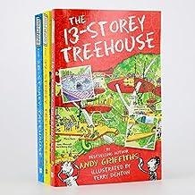 小屁孩树屋历险记3册套装 1-39层 英文原版 Storey Treehouse [平装] [Jan 01, 2015] Andy Griffiths [平装] Andy Griffiths
