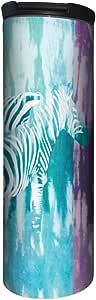 无树问候语 BT20084 Barista 不锈钢旅行咖啡杯,扎染果冻 Tie Dye Zebra BT20092