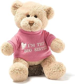 Gund I'm The Big Sister Message 12\ 毛绒熊玩具