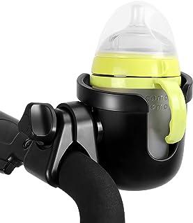 通用杯托 LANEYLI 婴儿车杯架,带挂钩自行车瓶架,大口径设计,360度旋转,适用于婴儿推车、自行车、轮椅、助行器、手推车