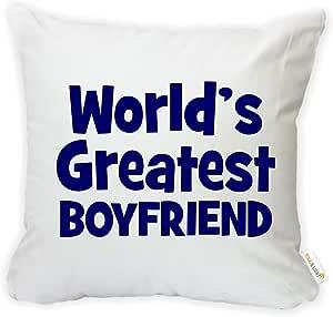 rikki KNIGHT 蓝色 WORLD ' s greatest DAD 超细纤维抱枕套靠垫带隐藏拉链–美国印花