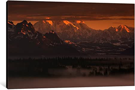 iCanvasART 11585-1PC6-18x12 Moods of Denali Canvas Print by Dan Ballard, 1.5 x 18 x 12-Inch