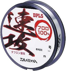 Daiwa(Daiwa) 碳氟素钓线 特氟龙速攻 60m 0.25号 天然