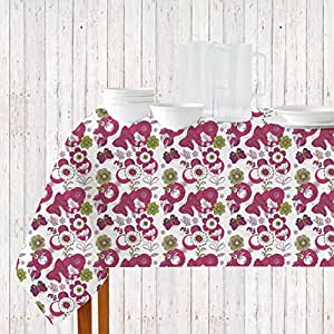 Navyata 坐标厨房套装 Purple/Floral 60 X 84 Inch