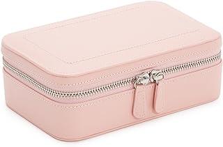 WOLF 392215 Sophia 拉链盒珠宝盒,玫瑰石英