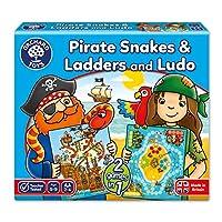 Orchard Toys 桌面游戏 海盗蛇梯棋