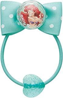 Skater斯凯达 橡皮筋 带丝带 约直径4.5×高2.5cm Ariel Little Maiden 迪士尼 HAG2 2个装