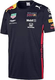 红牛赛车男士 Aston Martin Team T 恤 2019,XXL 码 T 恤,蓝色(*蓝),XXL 码