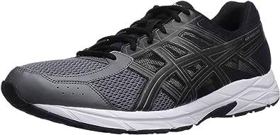 ASICS 男式 gel-contend 4running-shoes Dark Grey/Black/Carbon 6 D(M) US