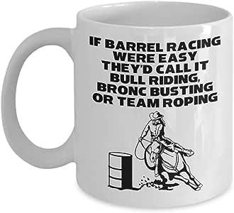 PixiDoodle Barrel Racing is Best Horse Lovers 礼物咖啡杯 白色 11 oz