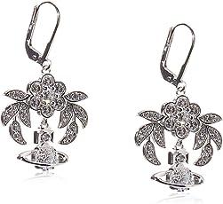 Vivienne Westwood 英国品牌 AMMABE625324/2耳环银白色BE625324/2